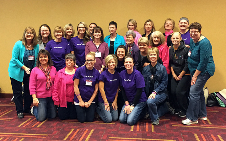 The ladies of First Baptist Church recently attended the True Woman 2014 conference in Indianapolis, IN.